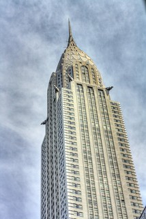 Chrysler Building HDR