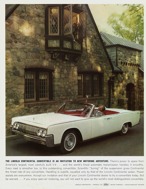 1964 lincoln continental convertible 3 flickr photo sharing. Black Bedroom Furniture Sets. Home Design Ideas