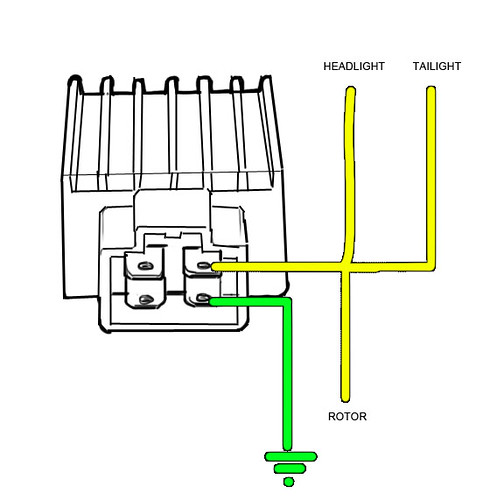 3 pin rectifier wiring diagram