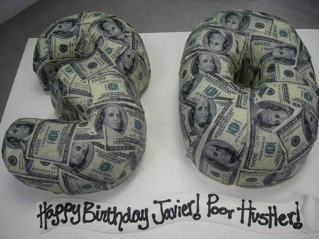 Photo - Money cake decorations ...
