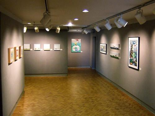 artist paintings stevefrenkelmuseumshowlagrangeartmuseum2006