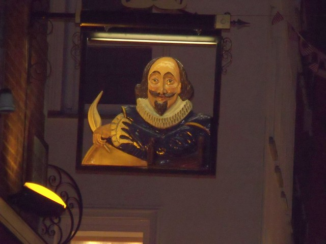 Shakespeare's Head - pub sign