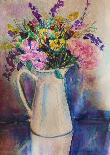 Jarros de flores