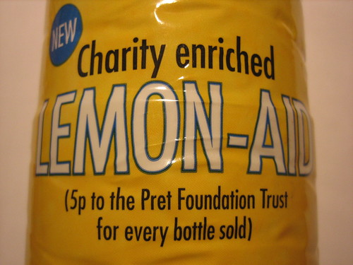 Charity enriched Lemon-Aid