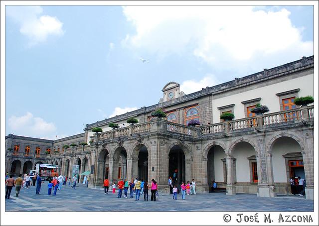 Mexico DF. Castillo de Chapultepec.