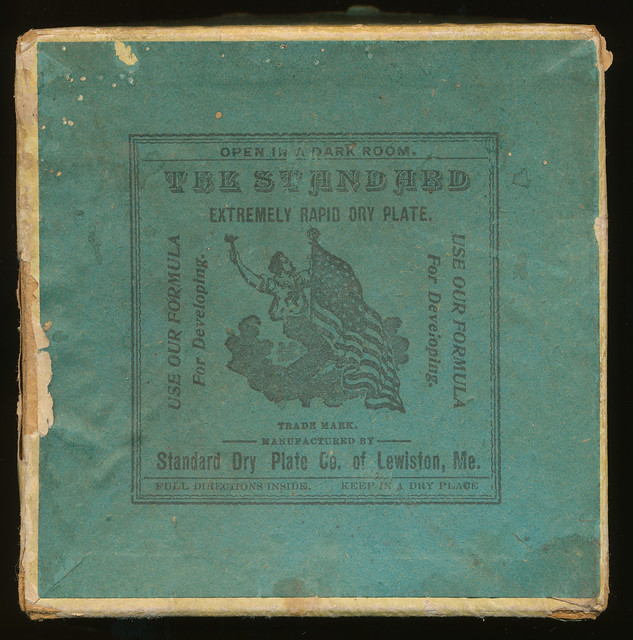Dry Plate Box Label
