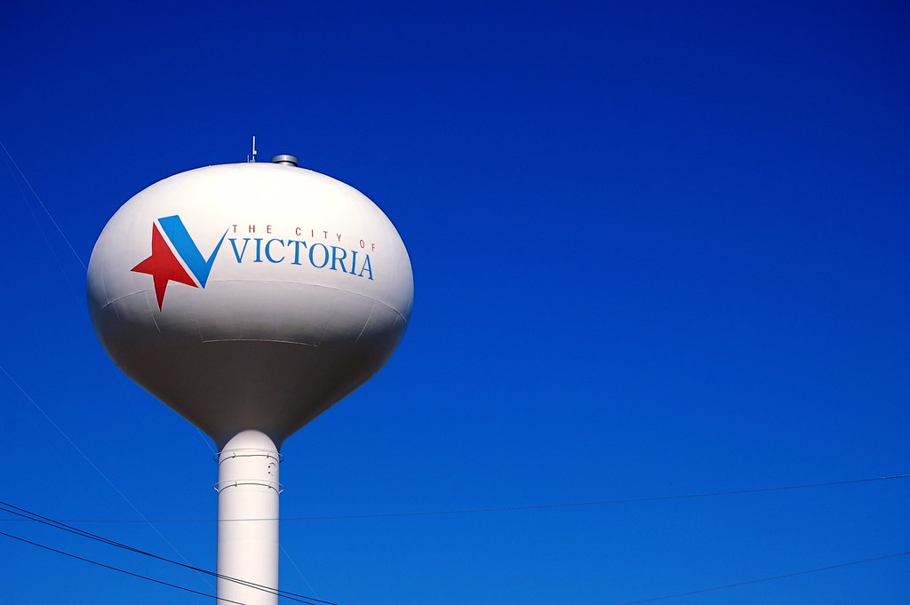 The City Of Victoria Water Tower