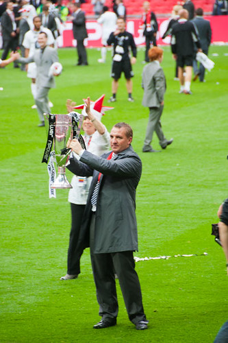 Swansea City vs Reading, Championship Playoff Final, Wembley 30th May 2011