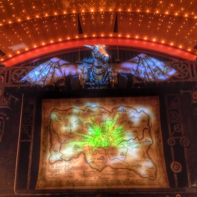 Wicked is more steam punk than I remember but I like it