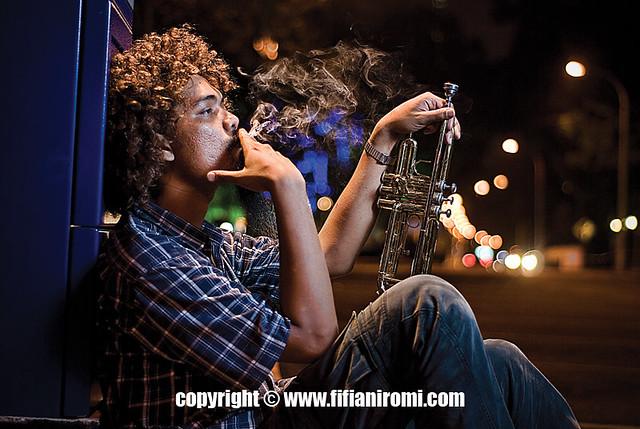 Funky Street Musician por bigbrother