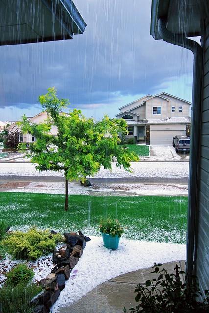 Hail Storm Colorado Springs Flickr Photo Sharing