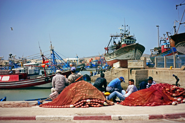Fisher in Essaouira