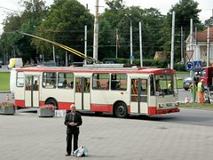 Škoda trolleybus family