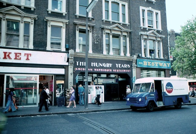 1976 - 28 - London - Earls Court Road - Hungry Years.