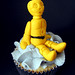 C3PO Star Wars cupcake topper