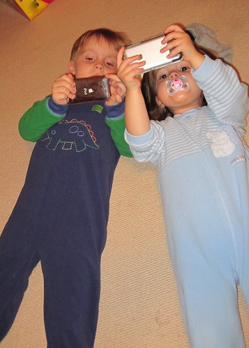 Wondering on Wednesday: Young Kids, iPhones, Tablets, and what does it mean?