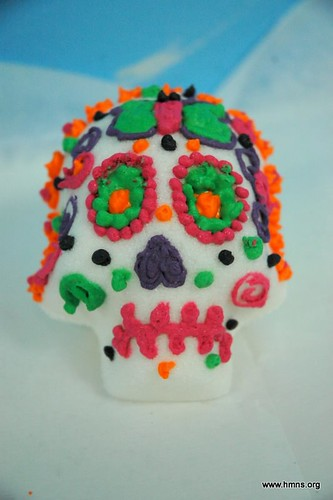 Completed sugar skull!