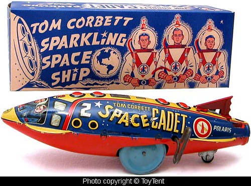Tom Corbett Space Ship by toytent
