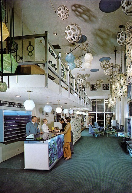 Inn of Tomorrow Lobby circa 1970