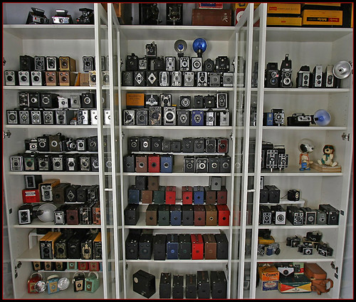 When Box Cameras go to Heaven... (a collection glimpse)