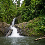 Immagine di Seven Sisters Waterfalls. vacation water island waterfall rainforest hiking falls grenada caribbean sevensistersfalls
