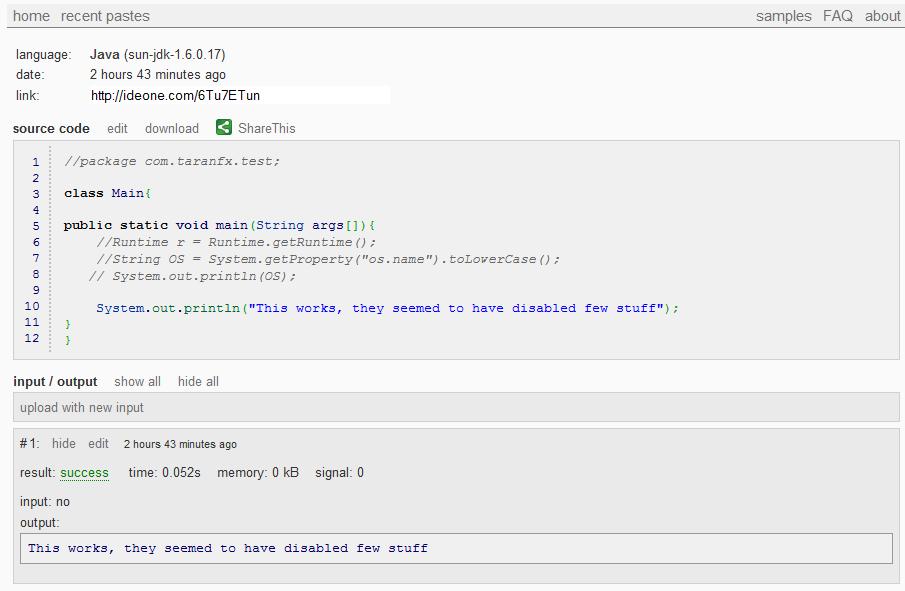 Run Code Online 40 Languages
