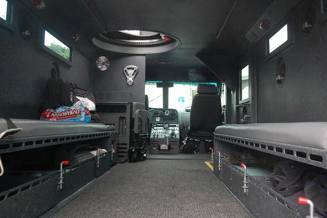 american police cars inside - photo #9