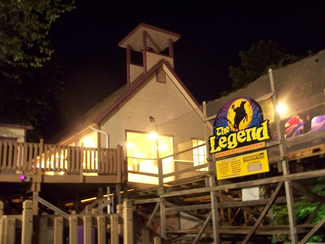 Holiday World - The Legend at Night