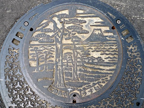 Ninomiya Kanagawa manhole cover(神奈川県二宮町のマンホール)