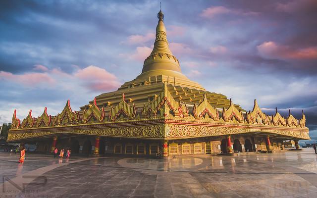 Global Vipassana Pagoda, Mumbai, India.