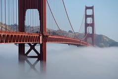 Across the fog
