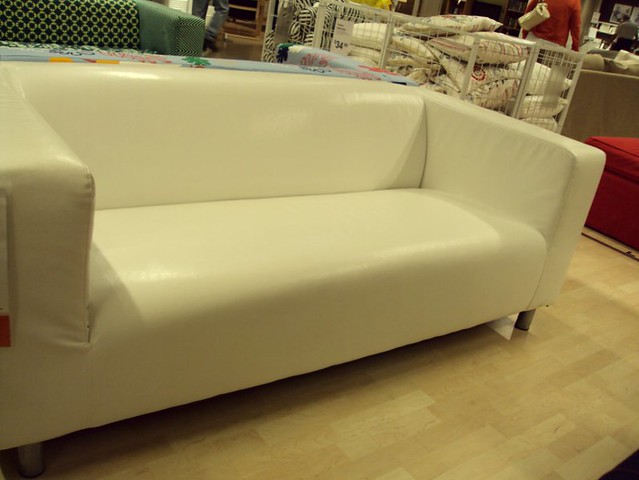 Ikea Klippan Loveseat In White 399 Flickr Photo Sharing