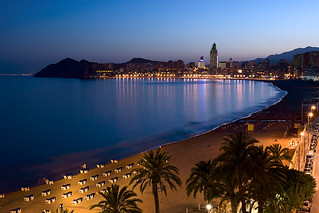 Benidorm by night (poniente)
