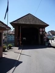 Covered bridge in Diessenhofen
