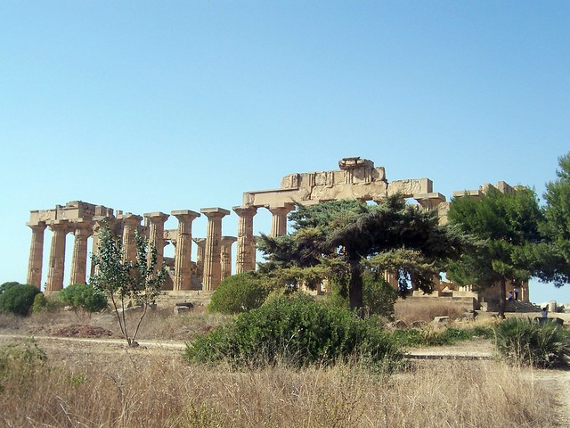 Temple E, the so-called Temple of Hera