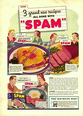 Spam ... it's what's for dinner!