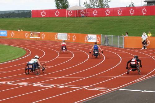 Wheelchair 200 M heats
