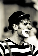 white, mime artist, photograph, head, monochrome photography, monochrome, illustration, black-and-white, beauty, black,