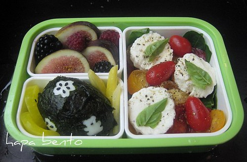 hapa bento yet another caprese bento box. Black Bedroom Furniture Sets. Home Design Ideas