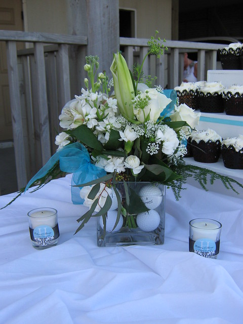 Golf Themed Centerpieces | Flickr - Photo Sharing!