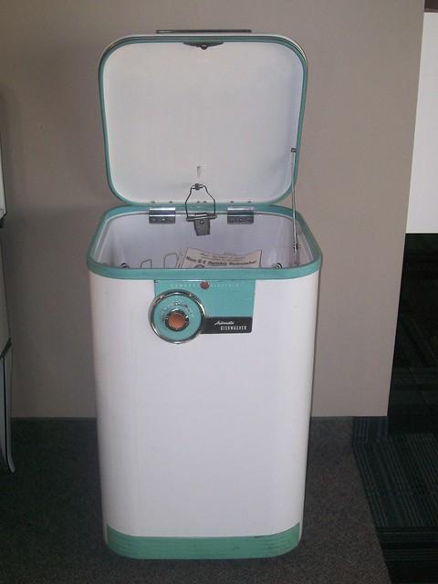 Vintage Ge Portable Dishwasher Explore Warners Stellian