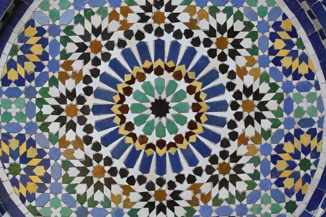 In a Moroccan Garden