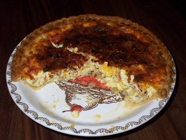 we made quiche