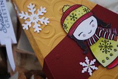 Linda christmas box Chinese detail