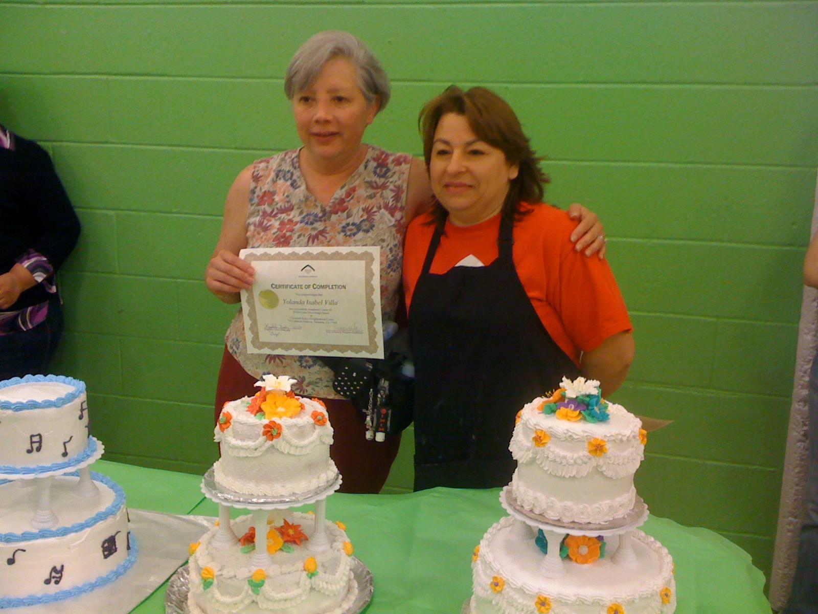Cake Decorating Class Pasadena