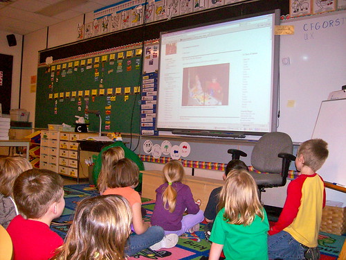 Watching the Smartboard