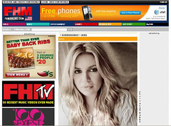 Alan Barry Photography featured in FHM