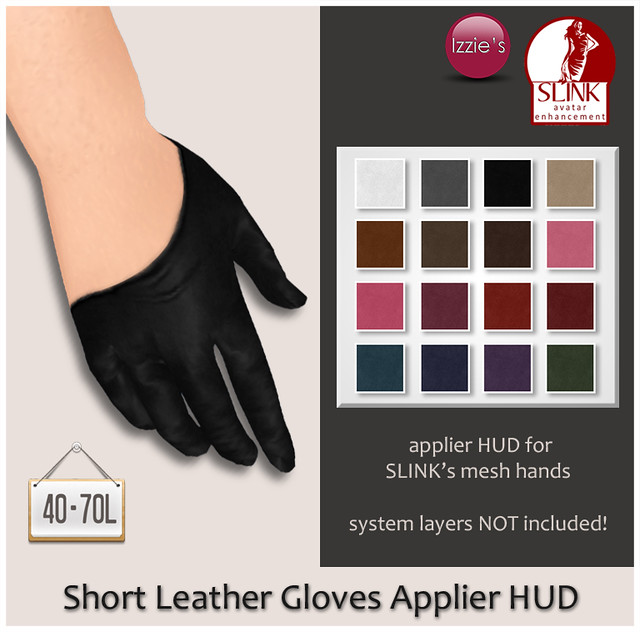 TDRF (Short Leather Gloves Applier HUD)