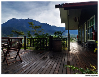 Kinabalu from your balcony