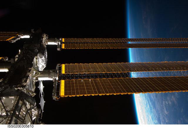 Earth's Horizon (NASA, International Space Station Science, 5/31/09)